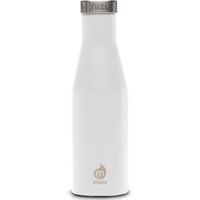 MIZU S4 Drinkfles with Stainless Steel Cap 400ml wit